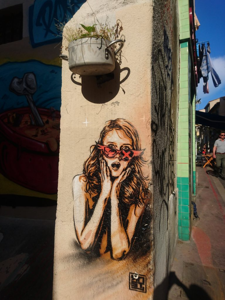 le-panier-street-art
